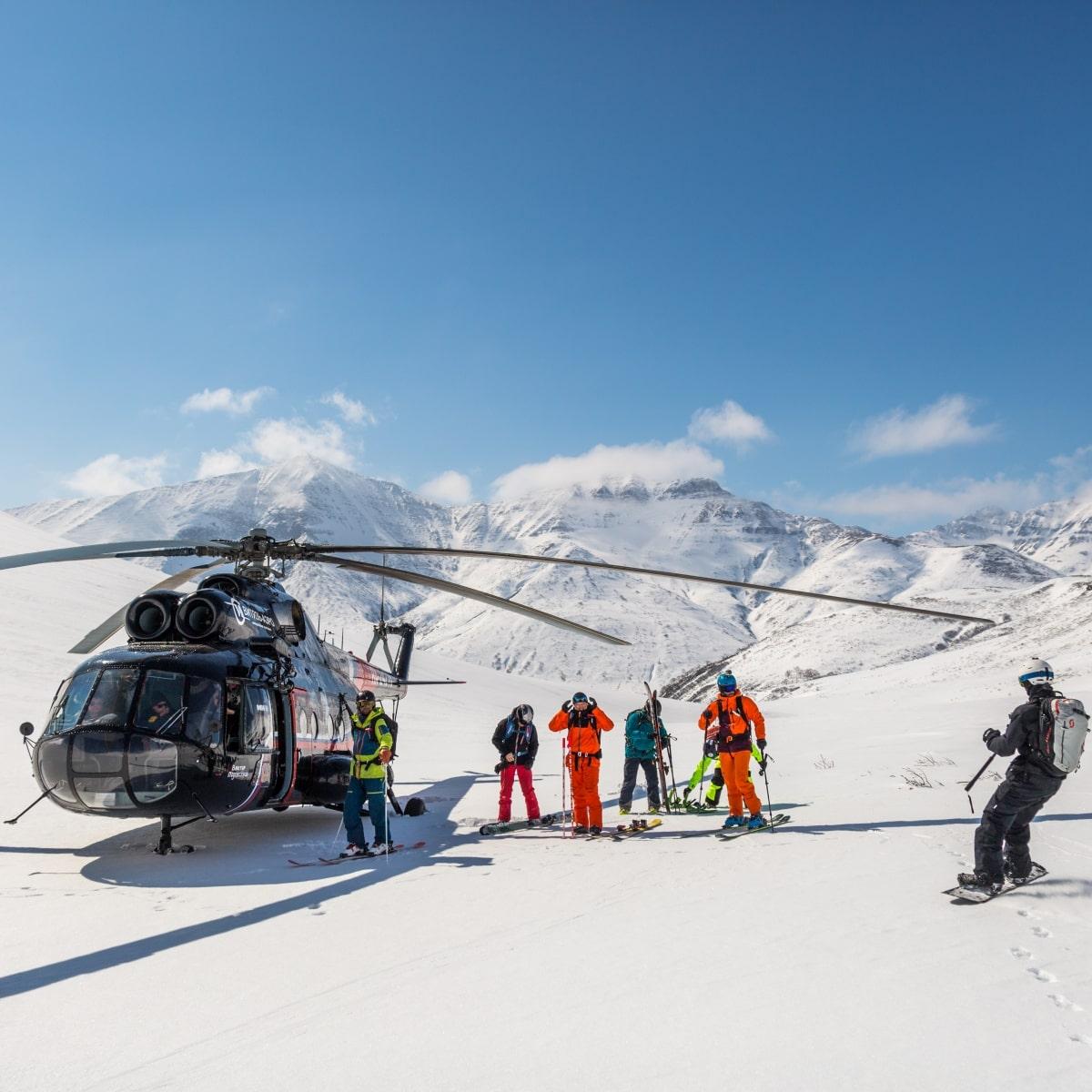 Kamczatka Heli Ski - Wyjazdy Freeride Snowboard
