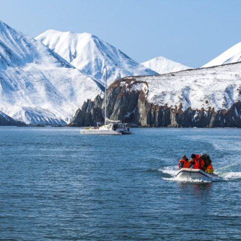 Kamczatka Sailing Ski Safari - Wyjazdy Freeride Narty